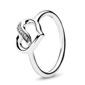 🍓Pandora Ribbon of Love Ring